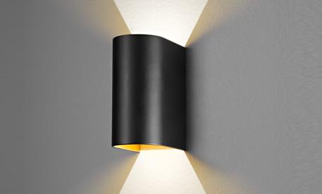 Wandleuchte Schwarz Gold ~ Die trendfarbe schwarz gold